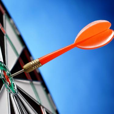 arrows and darts target
